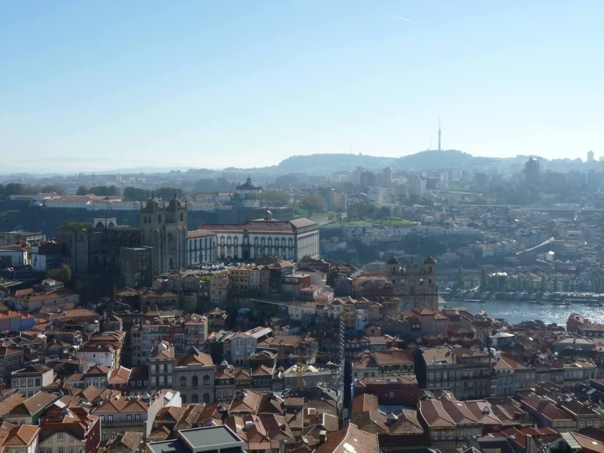 Vista Torre dos Clérigos 02 Porto Portugal Mundo Indefinido
