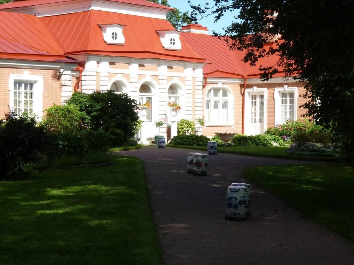 Monplaisir 02 Peterhof São Petersburgo Rússia Mundo Indefinido