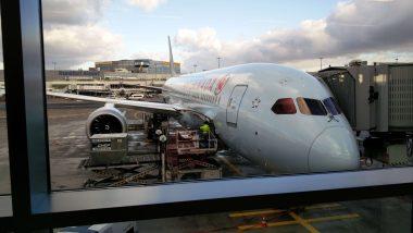 Air Canada avião para Calgary Mundo Indefinido