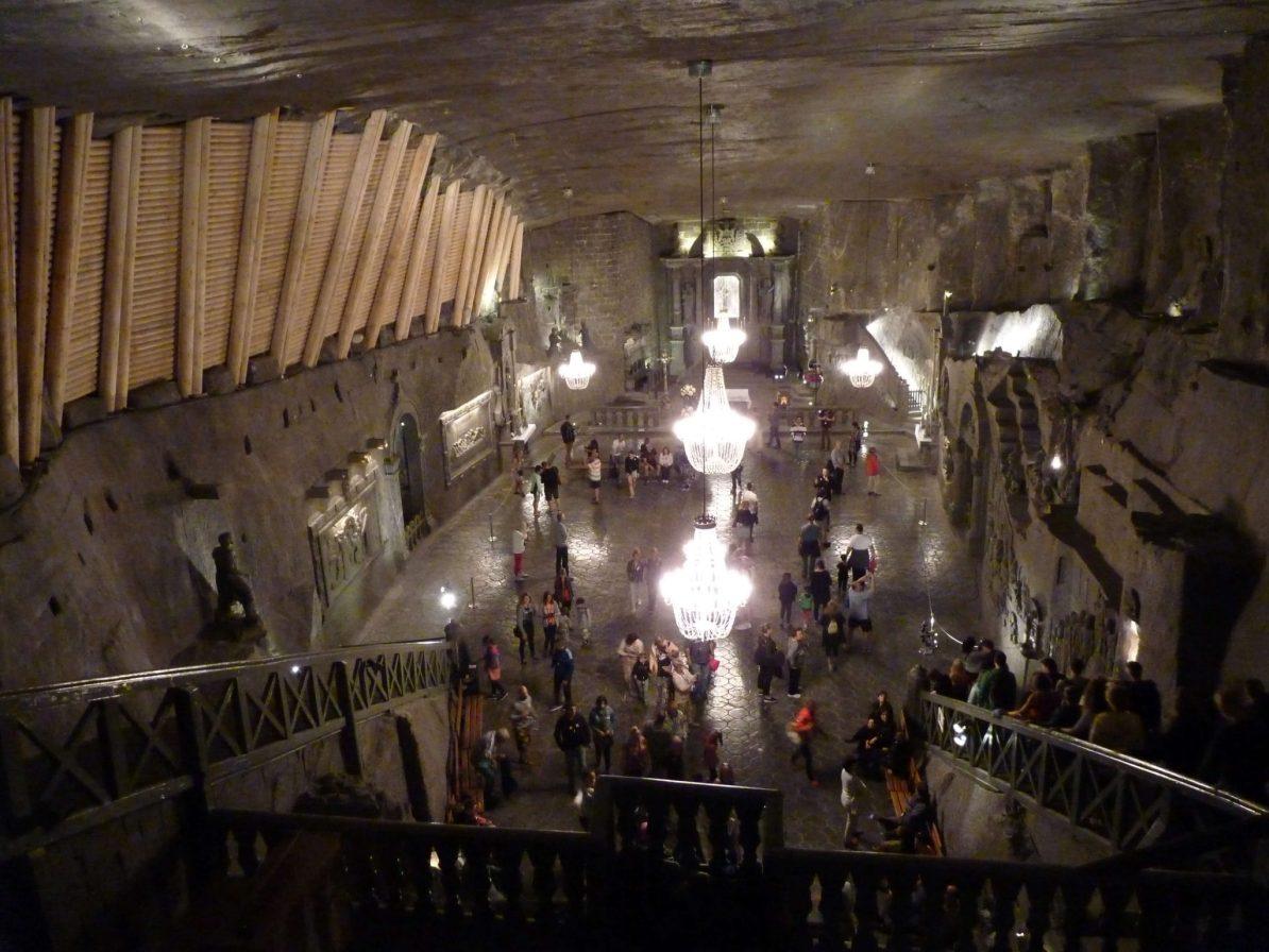 Capela 01 Minas de Sal de Wieliczka Polónia Mundo Indefinido