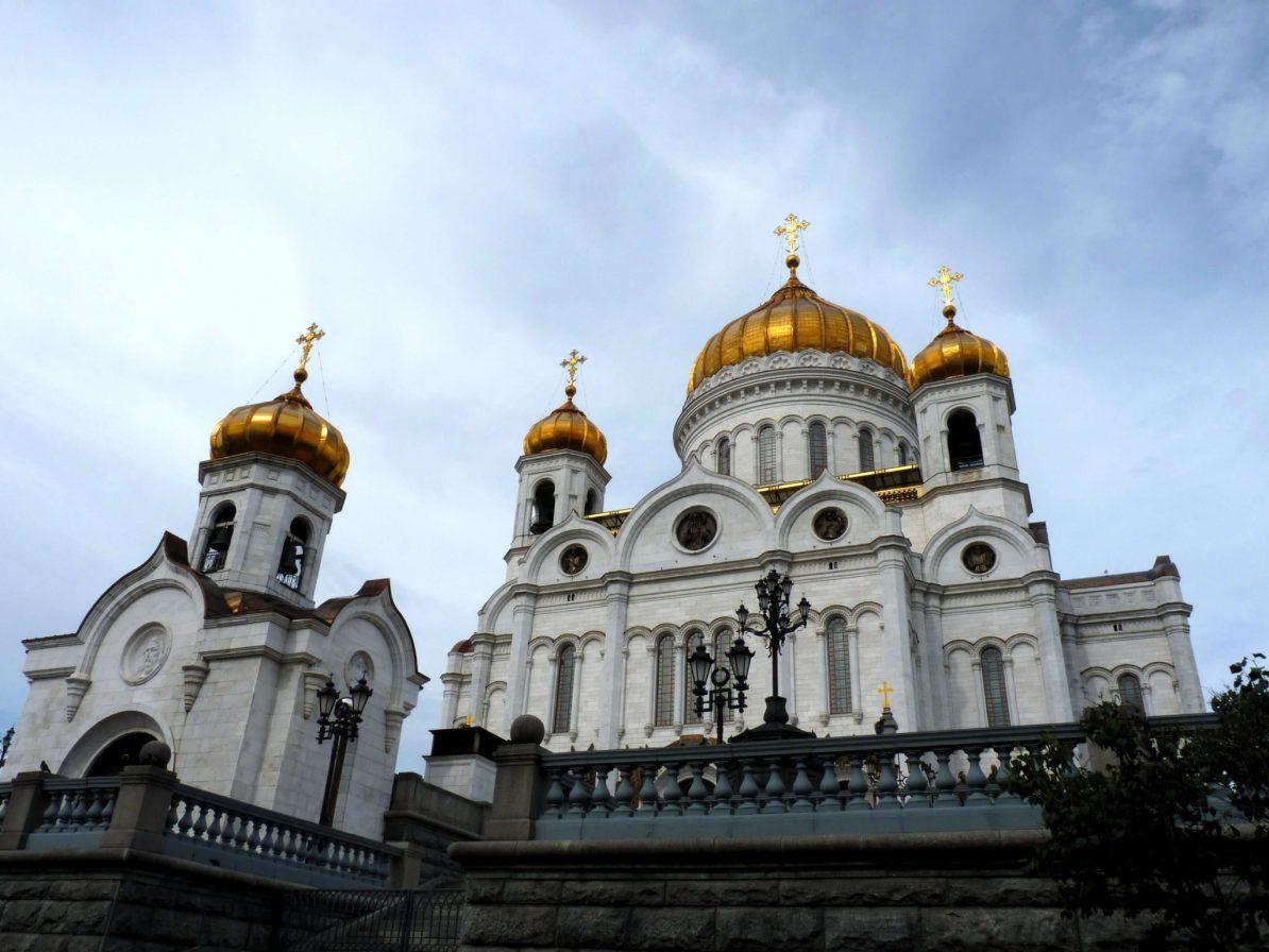 Catedral de Cristo o Salvador Moscovo Rússia Mundo Indefinido