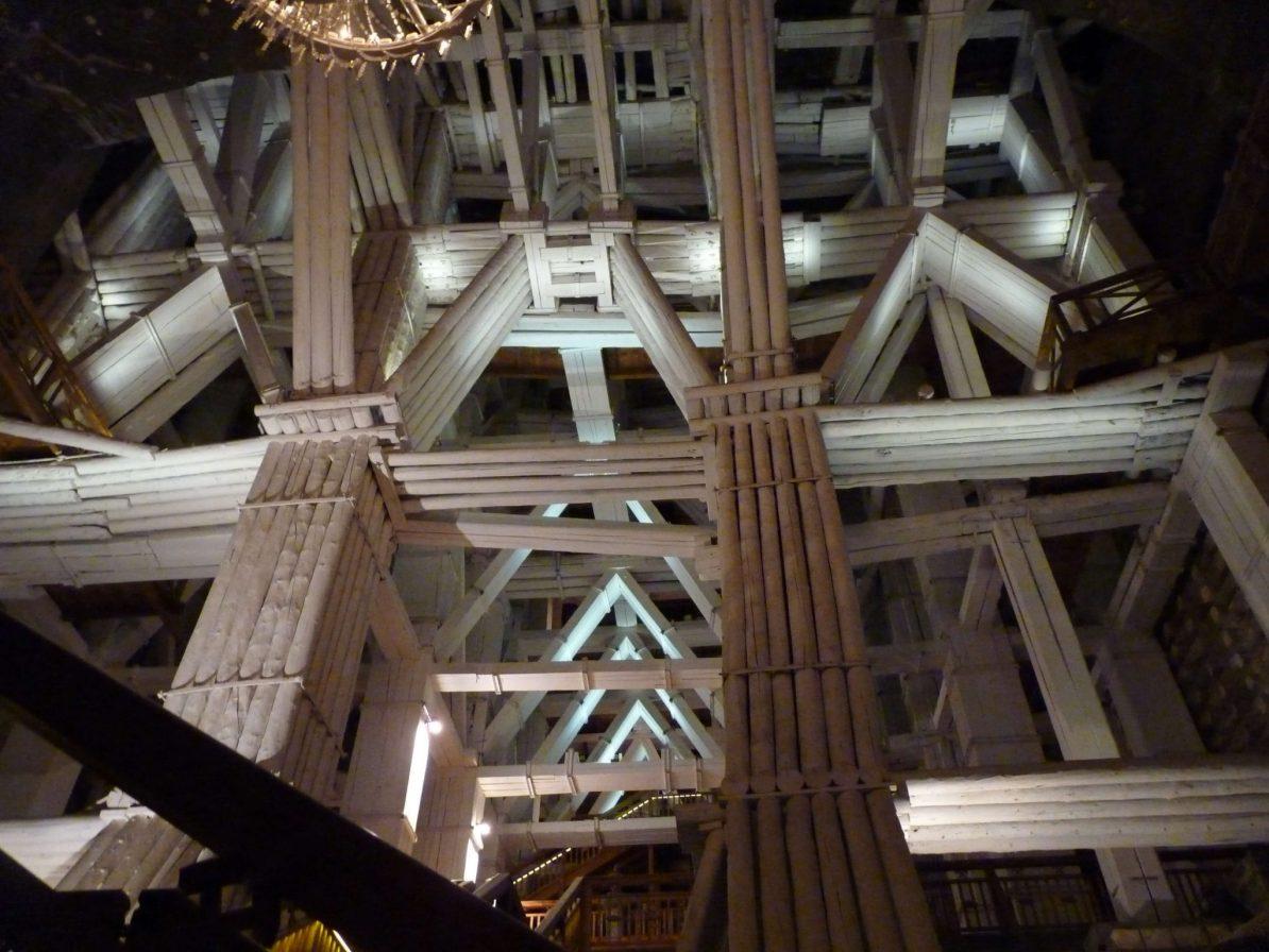 Estrutura Minas de Sal de Wieliczka Polónia Mundo Indefinido
