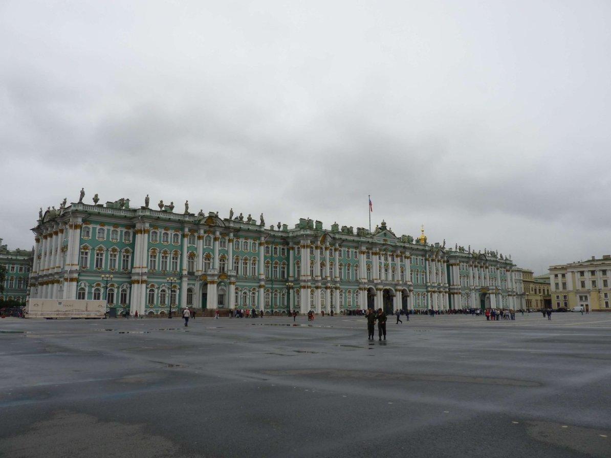 Hermitage exterior São Petersburgo Rússia Mundo Indefinido
