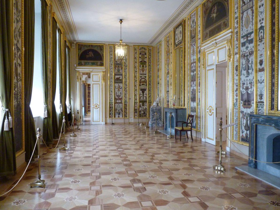 Palácio Stroganovsky interior 01 São Petersburgo Rússia Mundo Indefinido