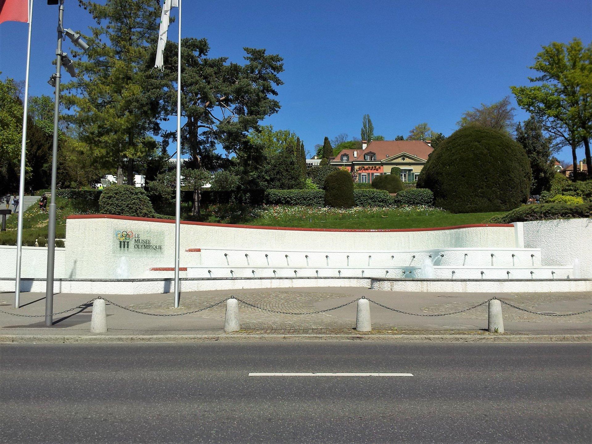Museu Olímpico de Lausanne na Suíça