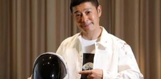 Bilionário japonês irá para a ISS antes de embarcar para a Lua