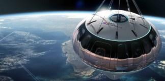 Depois de teste de voo de balão, passagens espaciais estão a venda