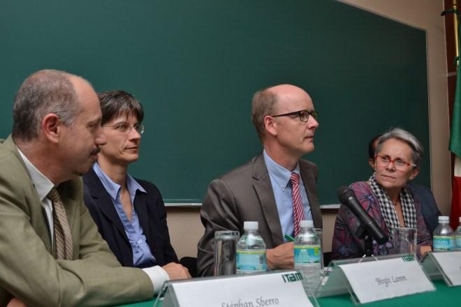 Stéphan Sberro, Birgit Lamm, Dirk Sauerland Silvia Núñez García y Fausto Kubli-García