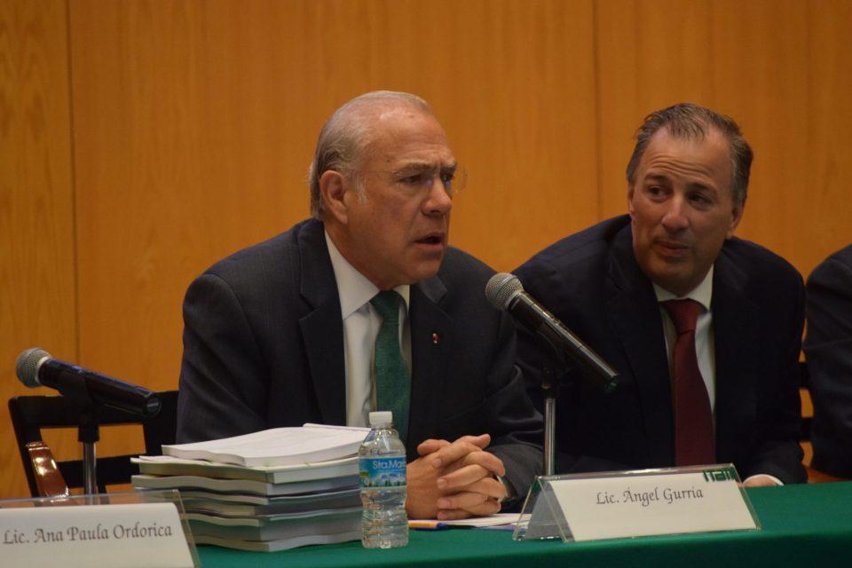 Ángel Gurría, Seminario Perspectivas Económicas ITAM 2017