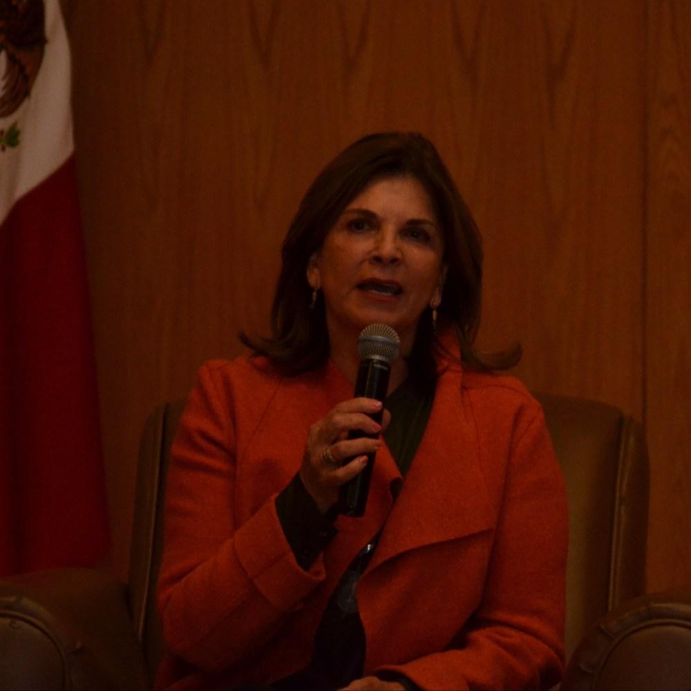 Marcela O. de Rovzar, presidenta de Qualitas for Life Foundation, en el Seminario de Compromiso Social del ITAM 2017