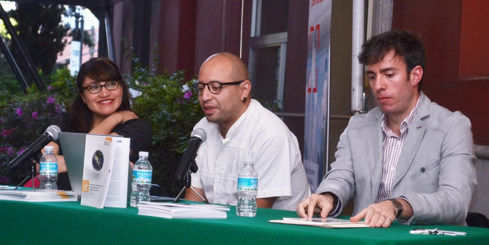 Dra. Gema Santa María, Dr. Alejandro Vélez, Dr. Fabio Vélez. FOTO: ITAM