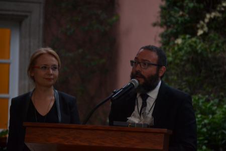 Berti Emrah Oder y Jorge Arturo Cerdio Herrán