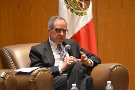 Dr. Luis Rubio, presidente del Consejo Mexicano de Asuntos Internacionales y de México Evalúa-CIDAC. FOTO: ITAM.