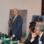 Dr. Arturo Fernández, rector del ITAM, en la presentación de El río que no vemos. Crónicas de Tizapán. Foto: ITAM