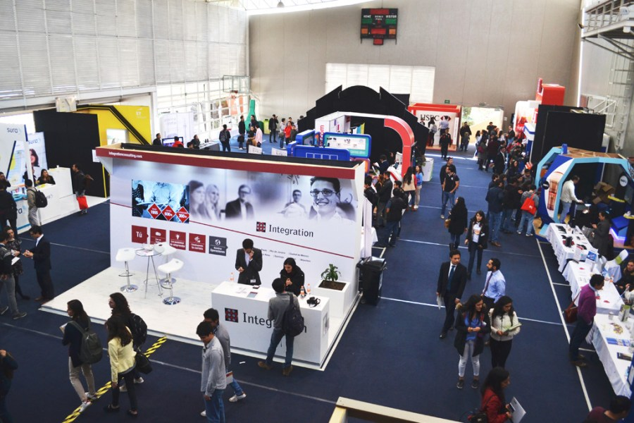 Feria del empleo, puro talento ITAM. FOTO: ITAM