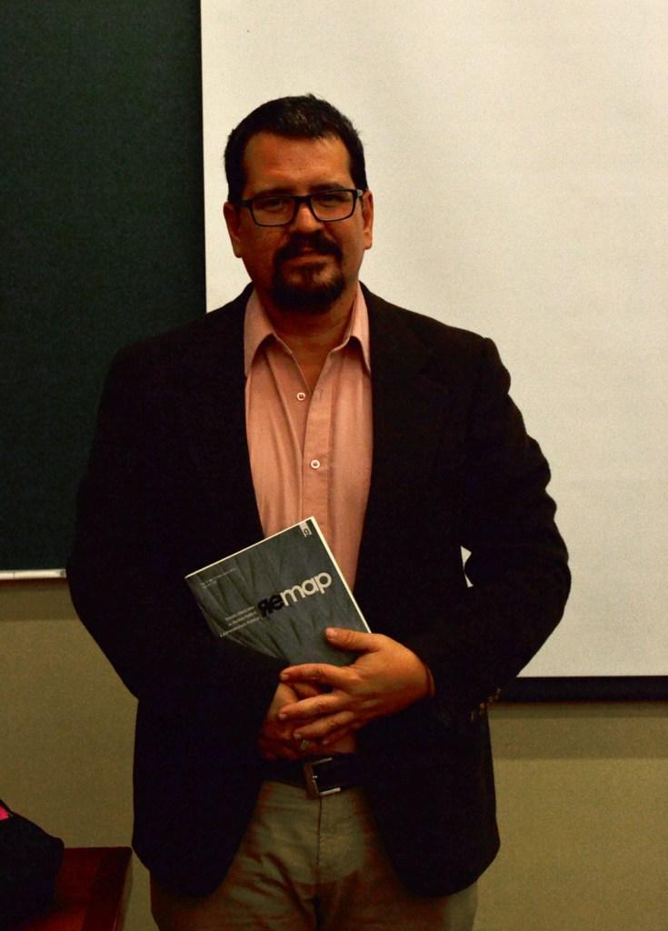 Dr. Armando Chaguaceda Noriega en Seminario de Investigación de Ciencia Política. FOTO: ITAM