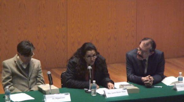 Dr. Miguel Soto, Dra. Laura Muñoz y Dr. Raúl Figueroa