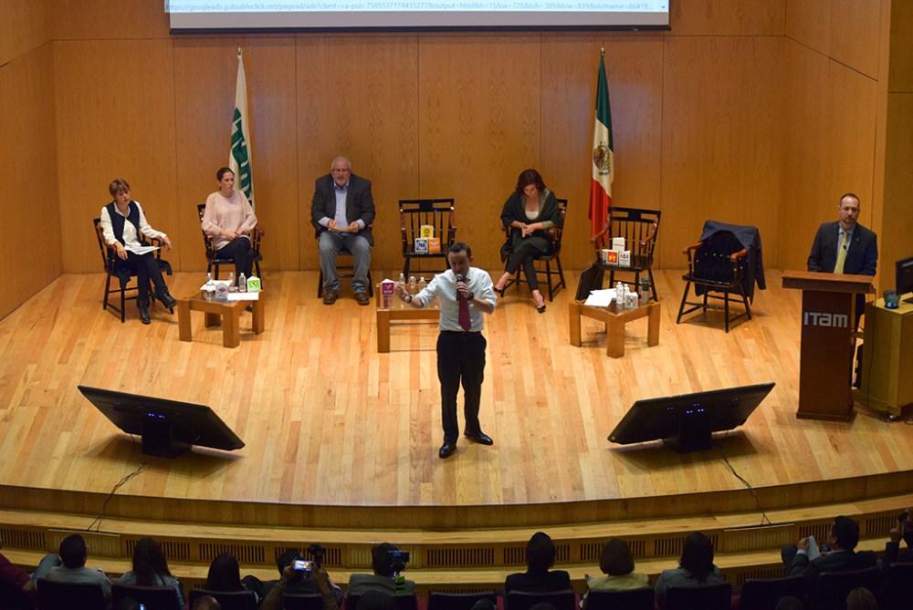 Candidatos a la jefatura de gobierno de la Ciudad de México. FOTO: ITAM