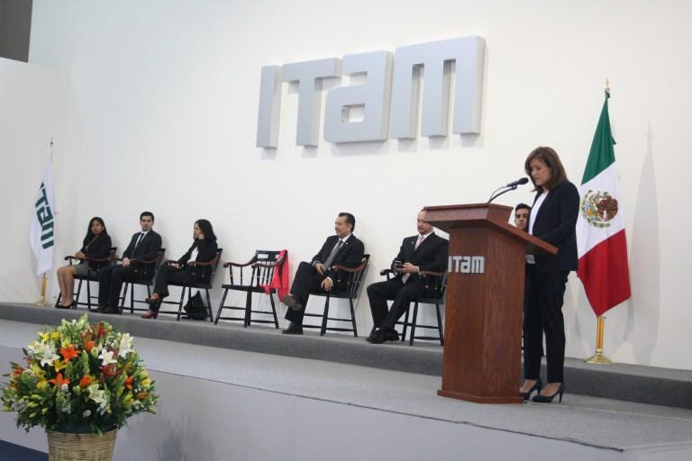 Margarita Zavala en el ITAM