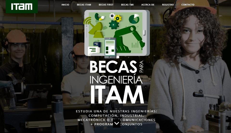 Becas para Ingeniería ITAM