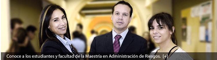 Víctor Guerrero, director de la Maestría en Administración de Riesgos