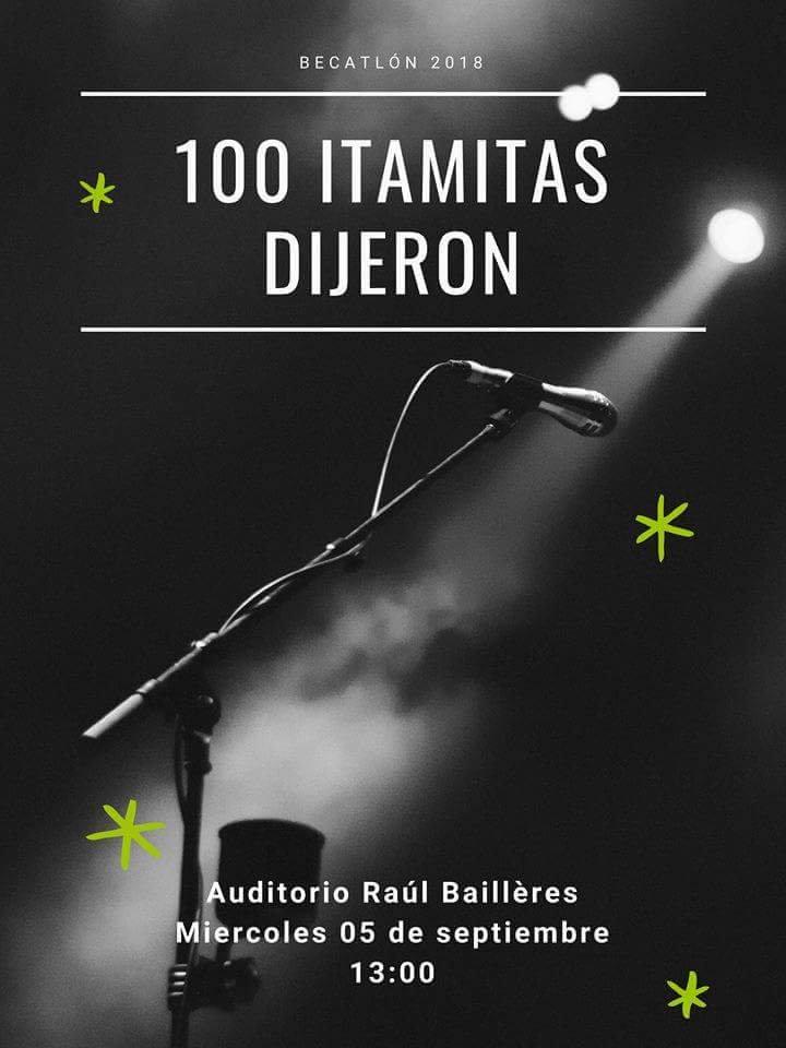 El gran show del Becatlón: 100 itamitas dijeron