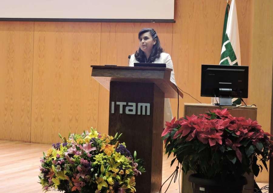 Ana Lidia Franzoni en el ITAM