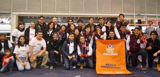 First Tech Challenge México 2019. Foto: ITAM