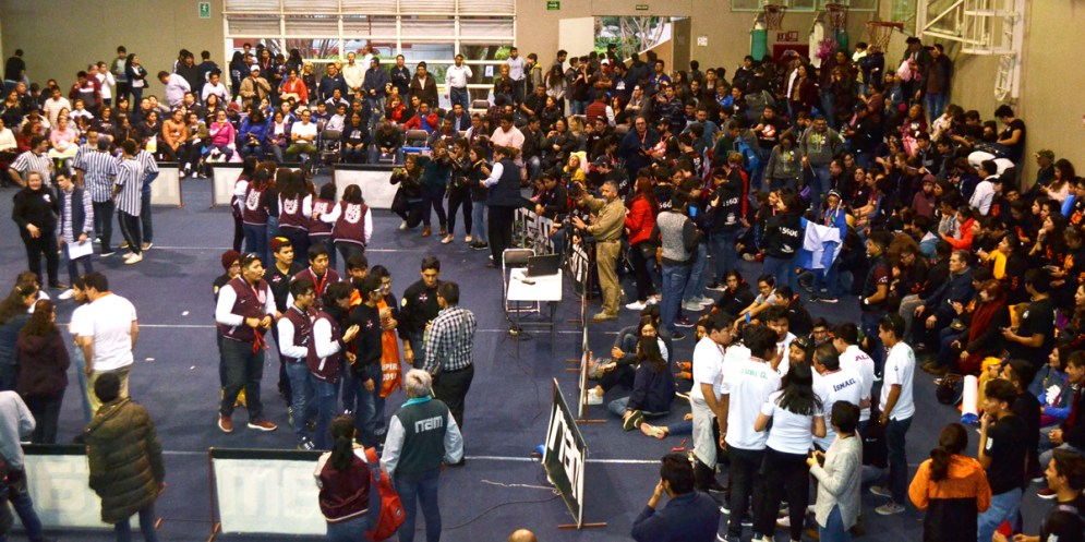 Final regional del FIRST Tech Challenge México 2019. Foto: ITAM