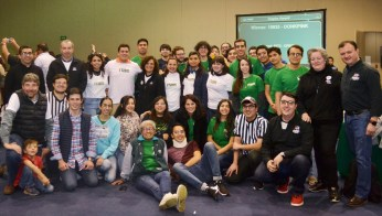Comité organizador del First Tech Challenge México 2019. Foto: ITAM