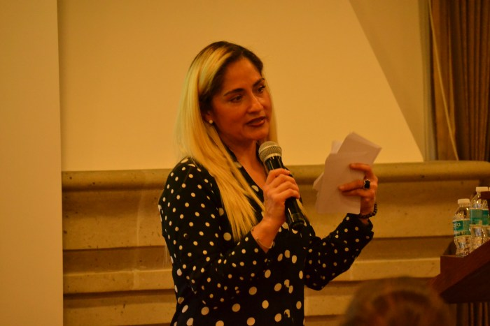Elsa García, miembro de Fundación Basak.