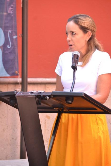 Lic. Alejandra Peralta, Directora de Desarrollo y Comunicación del ITAM