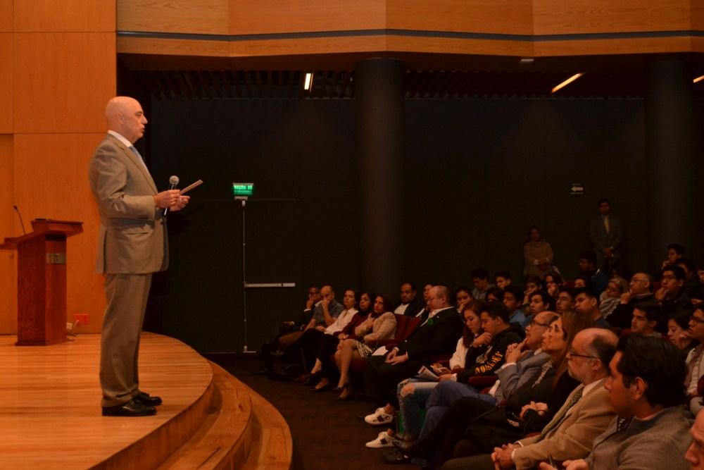 Dr Arturo Fernández, Rector del ITAM