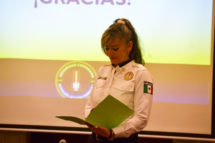 Marcela Muñoz, Dir. de seguridad ciudadana