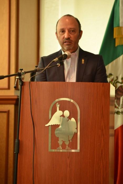 Alonso Guerrero Arteaga, Vicerrector del CESSA.