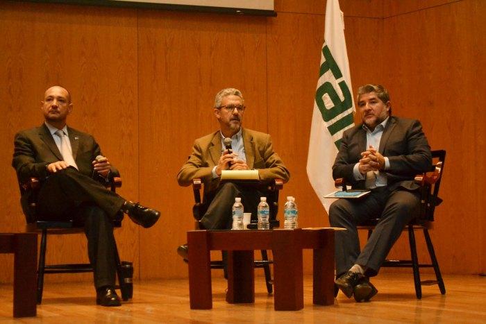 Dr. Horacio Vives, Mtro. Hugo Concha e Ing. René Miranda en materia de revocación de mandato y voto electrónico