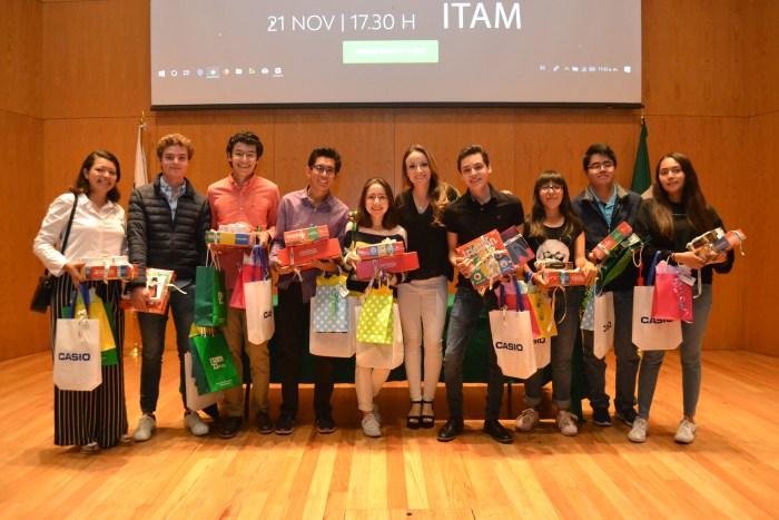 Ganadores Maratón ITAM.