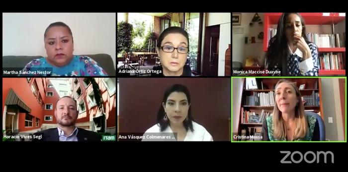 Cristina Massa habló sobre el sector privado y el lugar que ocupa la mujer.
