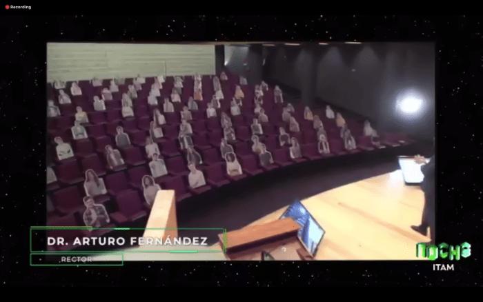 La Noche ITAM fue transmitida desde el Auditorio Raúl Baillères Jr.