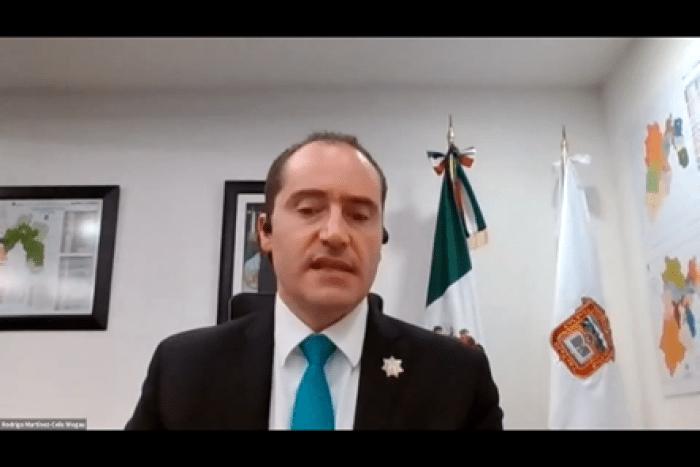 Rodrigo Martínez-Celis, Secretario de Seguridad del Estado de México. FOTO ITAM.