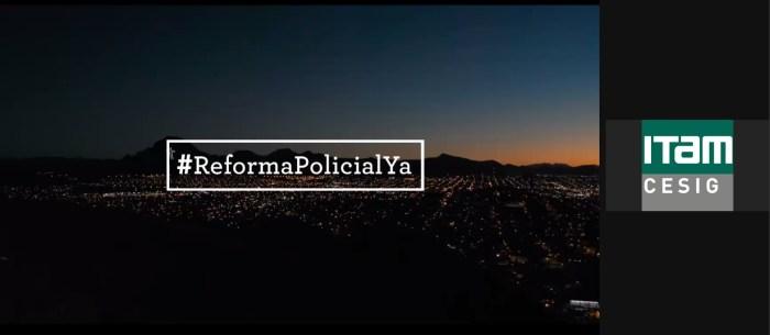 En el documental, se prueba la necesidad de una Reforma Policial urgente. Foto ITAM.