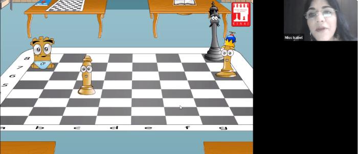 Los niños pudieron aprender las bases del ajedrez. Foto ITAM.
