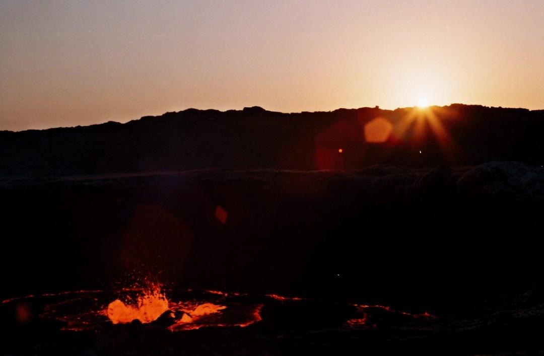 Amancer en el Erta Ale - Canon EOS500N - Kodakchrome 100 dia ETIOPIA