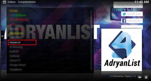 addon adryanlist