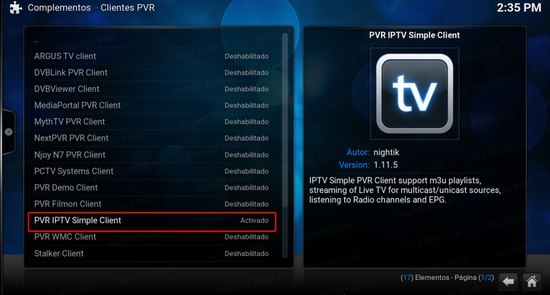 lista pvr total play. PVR IPTV Simple Client
