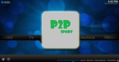 p2p sport en kodi