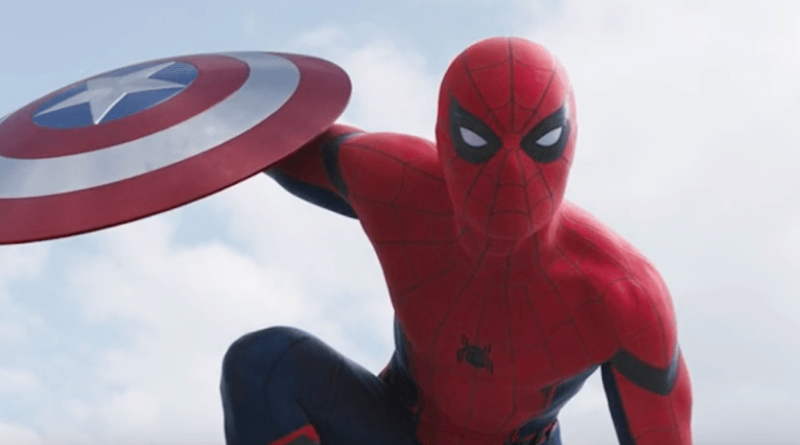 trailer de Civil War con Spiderman