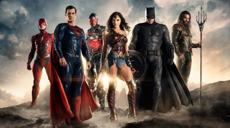 trailer de Justice League para Comic con