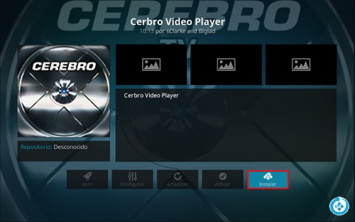 addon cerebro tv en kodi