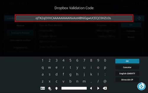 respaldo de kodi en dropbox